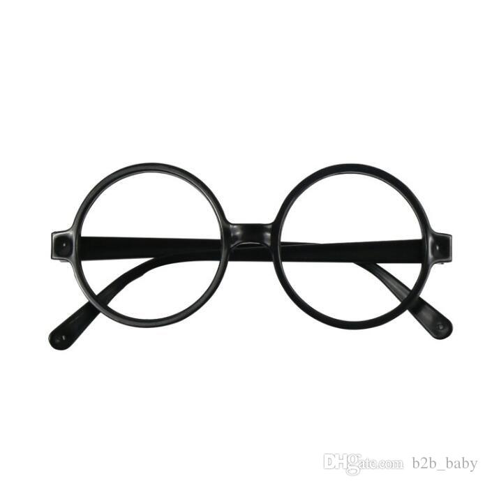 Agstum Round Retro Metal Prescription Ready Glasses Frame Clear Lens ...