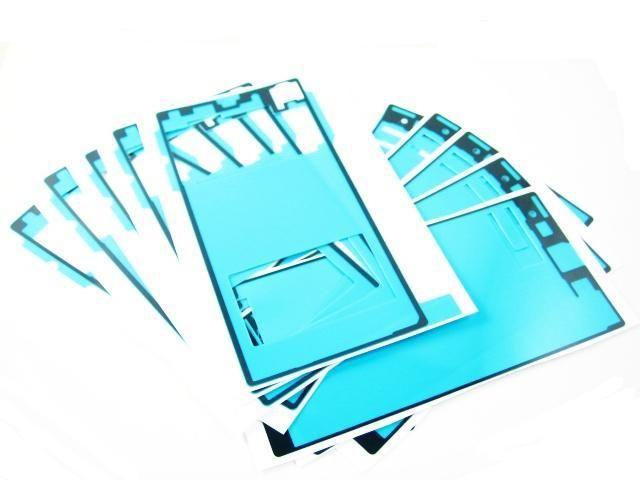 Ön Kesilmiş Pil Ön LCD Ekran Su Geçirmez Yapıştırıcı Tutkal Bant Sticker Sony Z Z1 Z2 Z3 mini XL39H L39H L36H C6603