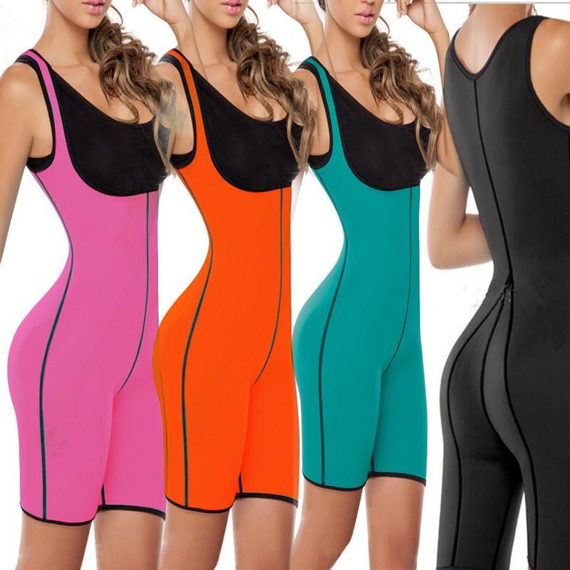 Both Sides Sport One Piece Body Shaper Body Suit Butt Lifter Gym Fitness Slimming Fitness Ultra Sweat Corset