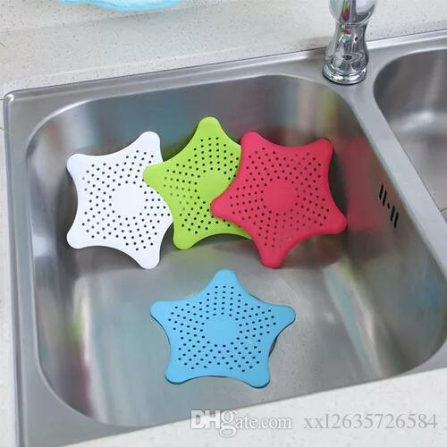 Creative Kitchen Gadgets Silicone Star Shaped Colander Strainer Sink Fascinating 5 Star Bathrooms Creative