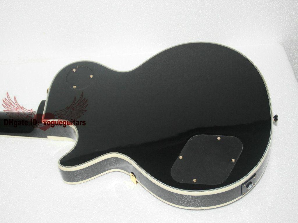Black Beauty 1958 Custom Shop Ebony Fingerboard In Stock Electric Guitar C80