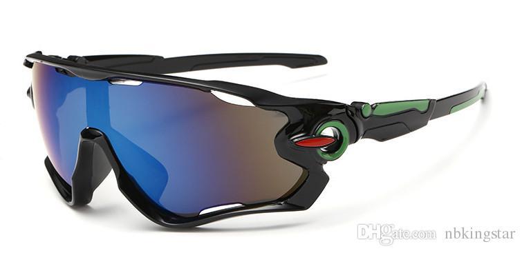 Gli occhiali da sole di estate calda di vendita degli uomini degli occhiali da sole all'aperto di sport di estate che guidano gli occhiali da sole /