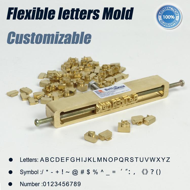 Compre Letras Flexíveis De Bronze Molde Da Gravura Do Cnc Máquina
