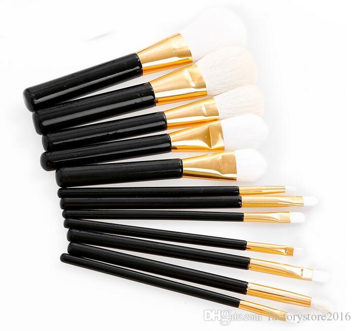 Makeup Brushes Set Powder Foundation Blusher Concealer Brushes Goat Hair Eyebrow Eye Brow Lipsticks Beauty Tools DHL
