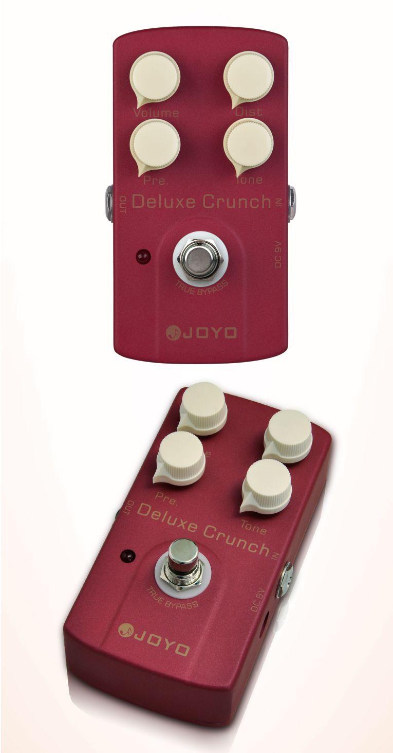 JOYO JF-39 Deluxe Crunch Elektro Guitarra Violao Gitar Etkisi Bozulma Pedal Gerçek Bypass Tasarım Enstrüman Parçaları I289