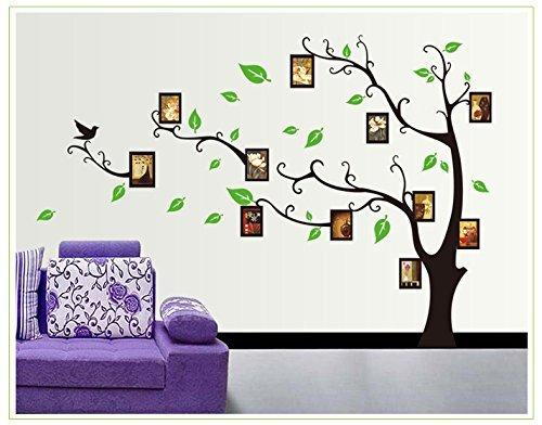 Large Family Tree Wall Decal. Easy To Install U0026 Apply History Decor Mural  For Home, Diy Photo Gallery Frame Decor Sticker Size:120x170cm Wall Decal  Deals ...