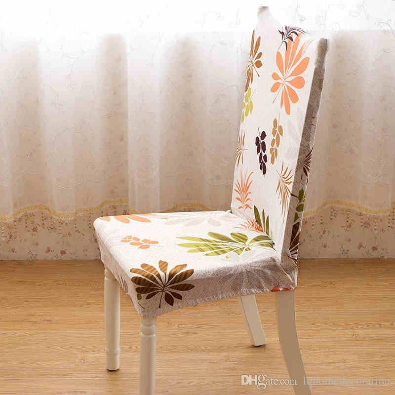 New Arrival Dining Room Jacquard Poyester Spandex Fabric Chair Covers Antifouling Cap Slipcovers For Hotel Banquet Recliner Sofa Club