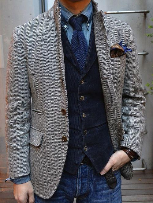 Bespoke Grau Bräutigam Hochzeit Anzug Mit Breiten Revers Tailored Smoking Nach Maß Zu Messen Männer Anzug jacke + Pants + Tie + Tasche Squaure Neueste Mode