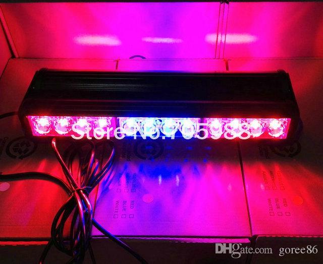 Double 24 LED barre de toit de voiture led stroboscopique camion lampe flash auto véhicule d'urgence phare lumineux DHL / EMS livraison gratuite