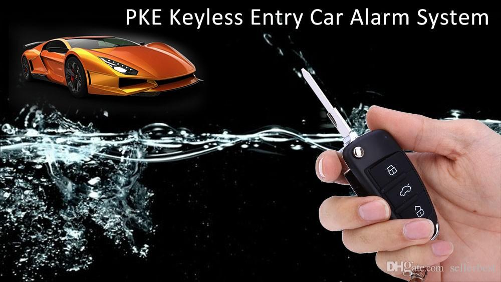 Car Remote Central Kit Keyless Entry System Vehicle Burglar Alarm Portable with Long Service Life KE03 - RT0180 Universal