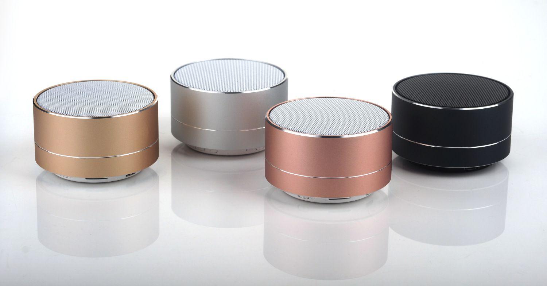 2020 3w Mini Portable Bluetooth Metal Wireless Speaker Stereo Set Stereo Speakers A10 Aluminum Mini Led Bluetooth Speaker From Hasense1 7 Dhgate Com