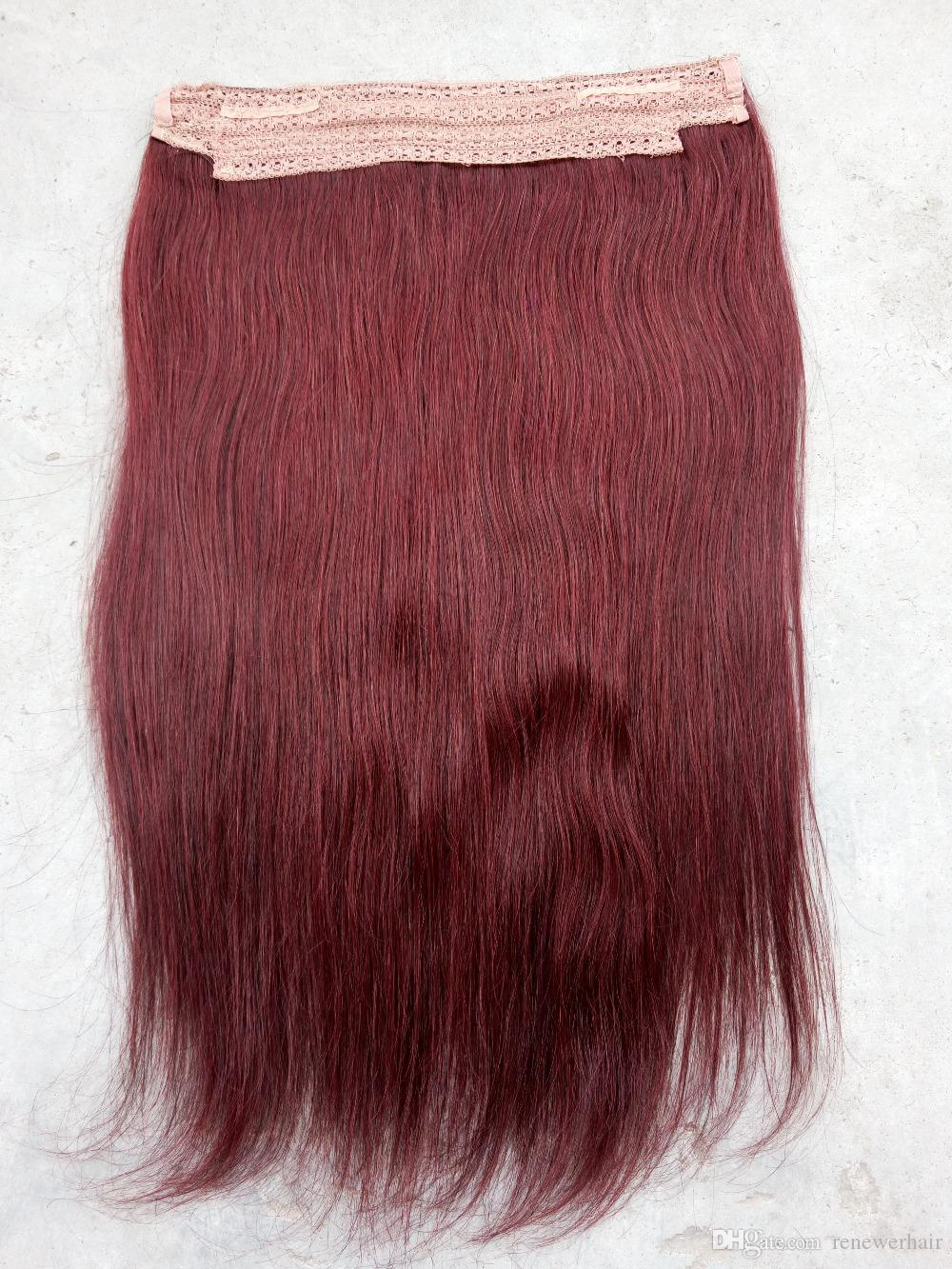 Halo Flip In Hair Extensions Brazilian Hair Extensions No Clips No