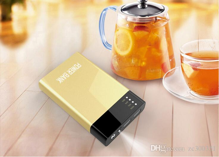 Wholesale Ultra thin slim powerbank 20000mah power bank for mobile phone xiaomi Tablet PC External battery