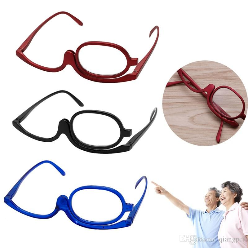 Men's Reading Glasses Professional Sale 3 Colors Reading Glass Magnifying Glasses Makeup Folding Eyeglasses Cosmetic General