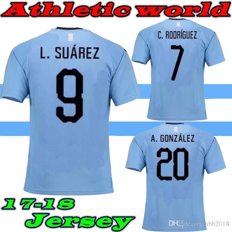 the latest 2d2ea 2250c Uruguay Sports Training Jersey /(Cavani 7/) - Kids Airo ...