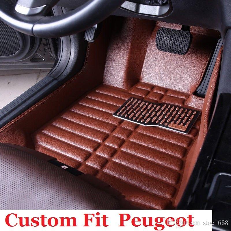 For Peugeot 207CC 308CC 308SW 307SW 607 RCZ 3008 4008 Leather Car ...