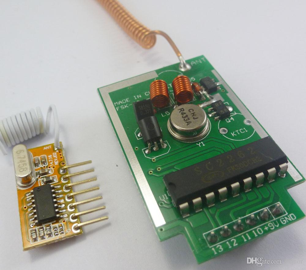Pt2262 Transmitter Wiring Diagram Trusted Schematics Wireless Testing A Pt2262based Remote Control Element14 2018 433mhz Pt2272 Ev1527 Encoder For Arduino Decoder Rf