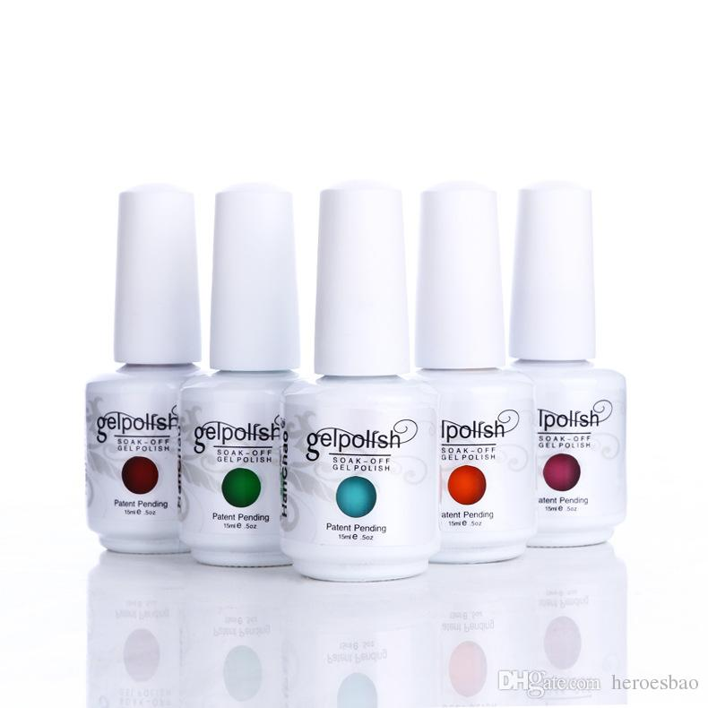 High Quality Gelish Nail Polish Colors Top And Base Coat Led Uv Gel ...