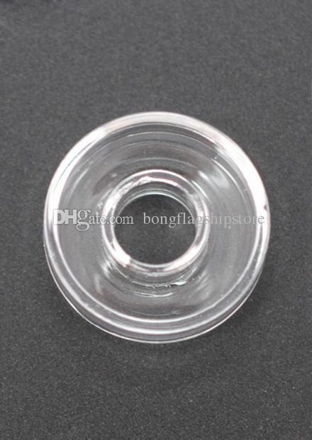 High quality replaceable 100% quartz dish fit all Titanium/Quartz Hybrid nails enails for oil rigs,glass water bong in stock