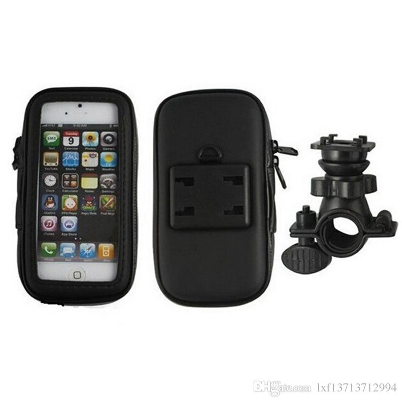 Waterproof Moto Bike Bicycle Mount Phone Holder Bag Case Mobile GPS Support For iPhone 6 6S for Samsung Galaxy S3 S4
