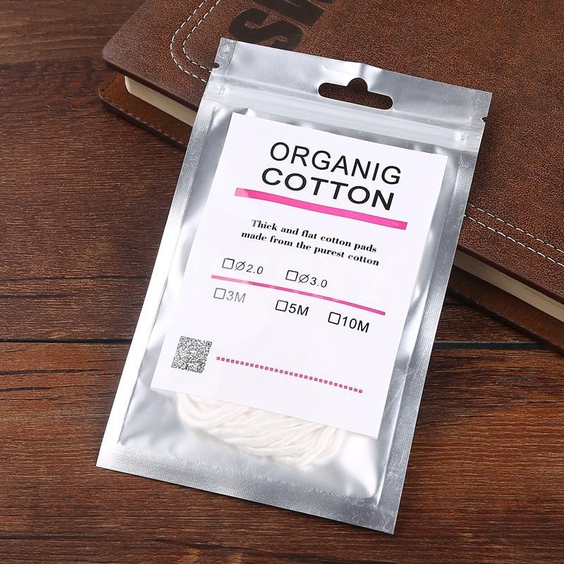 Filo di cotone organico puro cotone A1 di cotone organico bobine di diversa resistenza fai da te