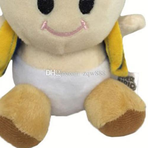 "6.5"" 17cm Super Mario Bros Toad Plush Dolls Stuffed Toy Animals For Baby Gifts"
