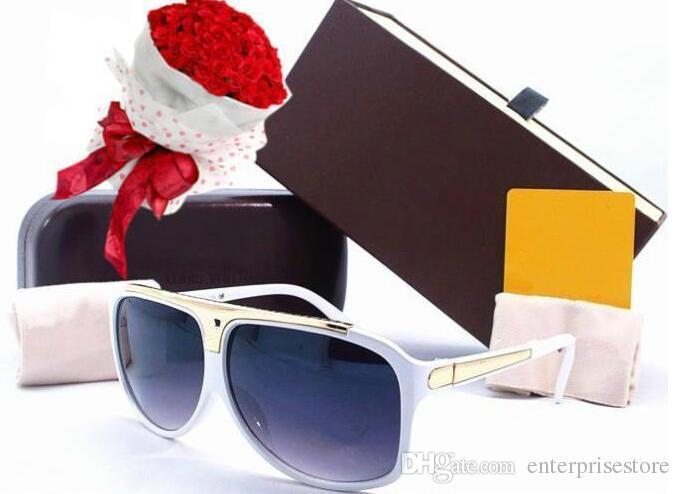 c3e00aec587b 2017 New Fashion EVIDENCE Sunglasses White Millionaire Sun Glasses Men  Women Sunglasses Sunglasses Prescription Sunglasses Online Black Sunglasses  From ...