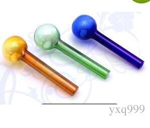 Accesorios al por mayor de la cachimba - pote recto del color los 10cm