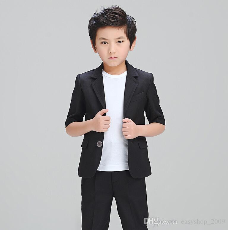The Fashion Handsome Boy Small Business Suit Flower