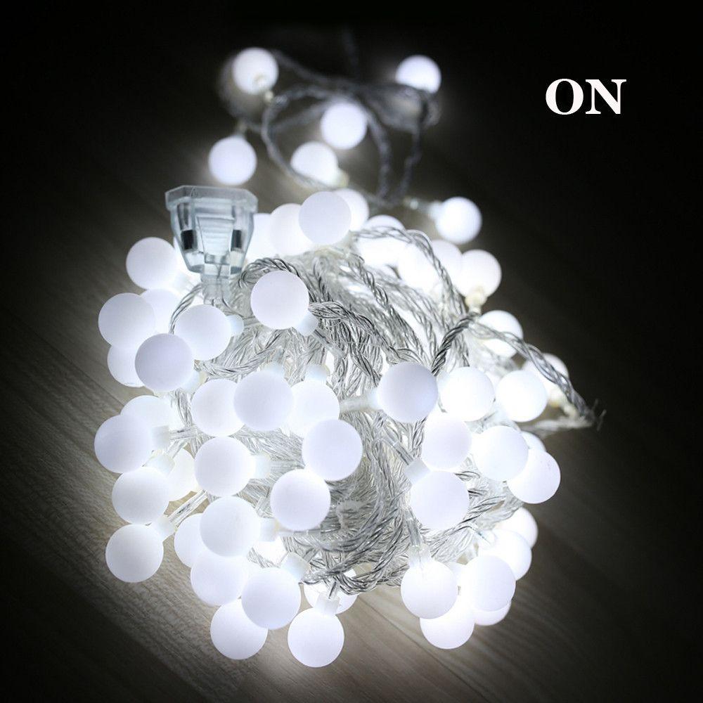 Waterproof LED String light 10M 100led ball AC110V /100V US PLUG outdoor / Indoor decoration lighting for christmas festival party