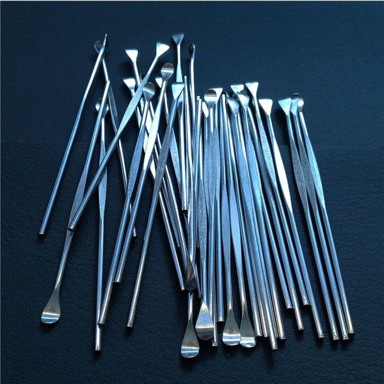 Stainless steel e cigarette dabber tool titanium dab nail for wax glass ago g5 vgo skillet snoop dogg atomizer g Pro vaporizer pen