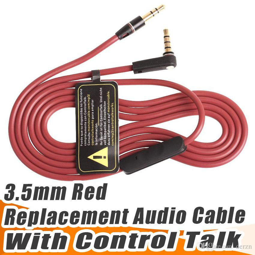 Discount Red Wires For Headphone 35mm Replacement Cable Audio L