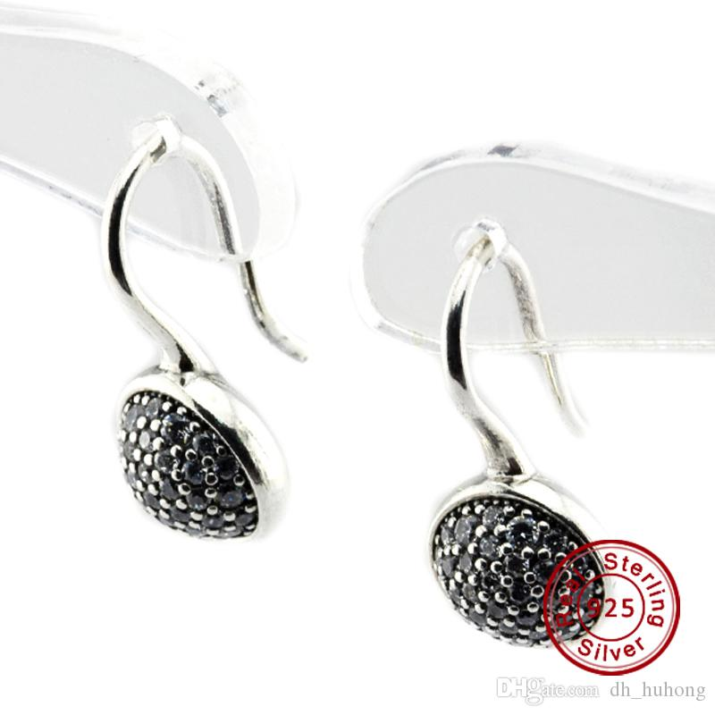 8f488a557 Dazzling Droplets, Clear CZ 100% 925 Sterling Silver Earring Fit ...