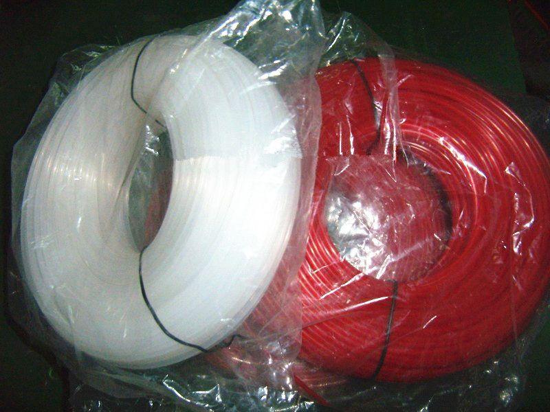 2 rotoli x filo di nylon linea rotonda .065 '' / 1,6MM 1 LB. / roll pack di erogazione facile da 2 lb elettrico di qualità premium strimmer