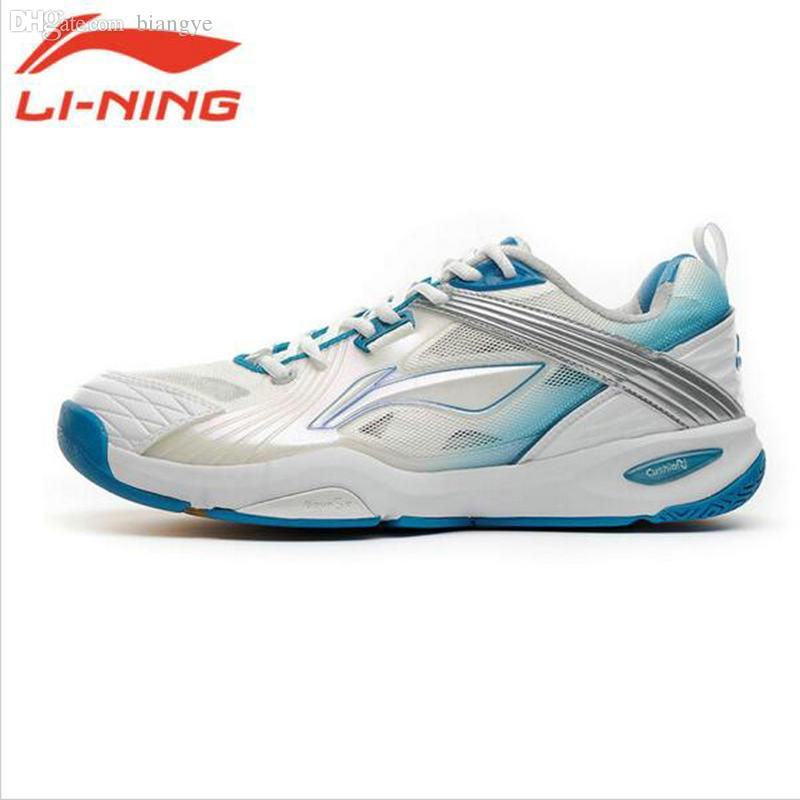 Wholesale-LiNing Original Brand Men Badminton Breathable Thick Soled Tennis  Shoes Male Wear-Resistant Plus Size Platform Sneakers AYAF007 Badminton  Shoes ...