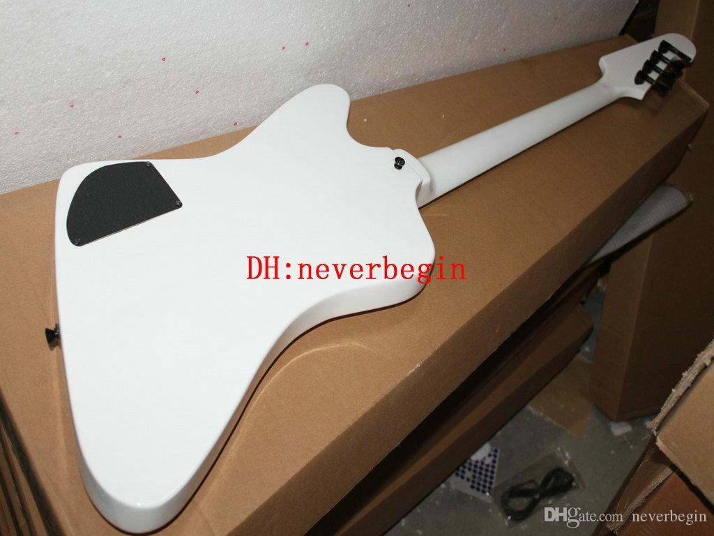 New Arrival Chinese Bass 4 현악기 일렉트릭베이스 화이트베이스 기타 무료 배송