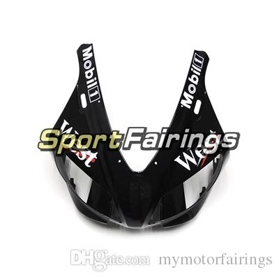 West Black White Carenados llenos para Yamaha YZF R1 98 99 YZF-R1 1998 1999 Motorcycle Fairing Kit Carrocería ABS Cubiertas Cubiertas
