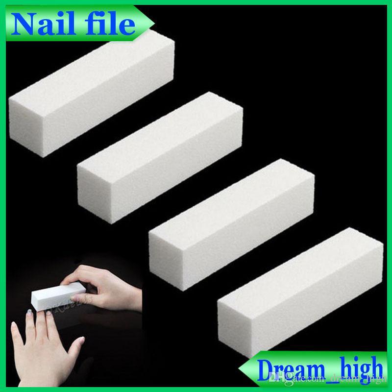 Nail White Block White Buffing Sanding Files Block Pedicure Manicure ...