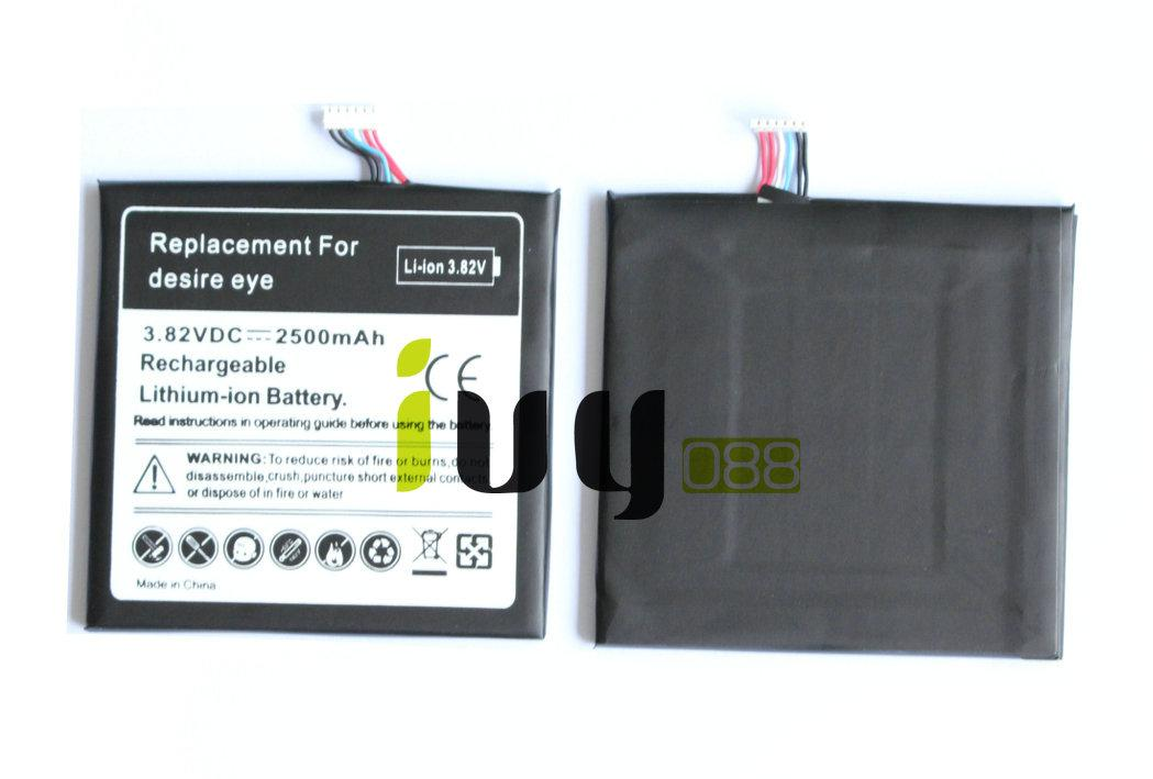 10 pçs / lote 2500 mah b0pfh100 bateria de substituição para htc desire eye m910x m910n baterias batterij batterij