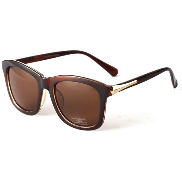 Wholesale-Sunglasses Women's Plastic Frame Square Sunglasses Eyeglasses Glasses 4 Colors