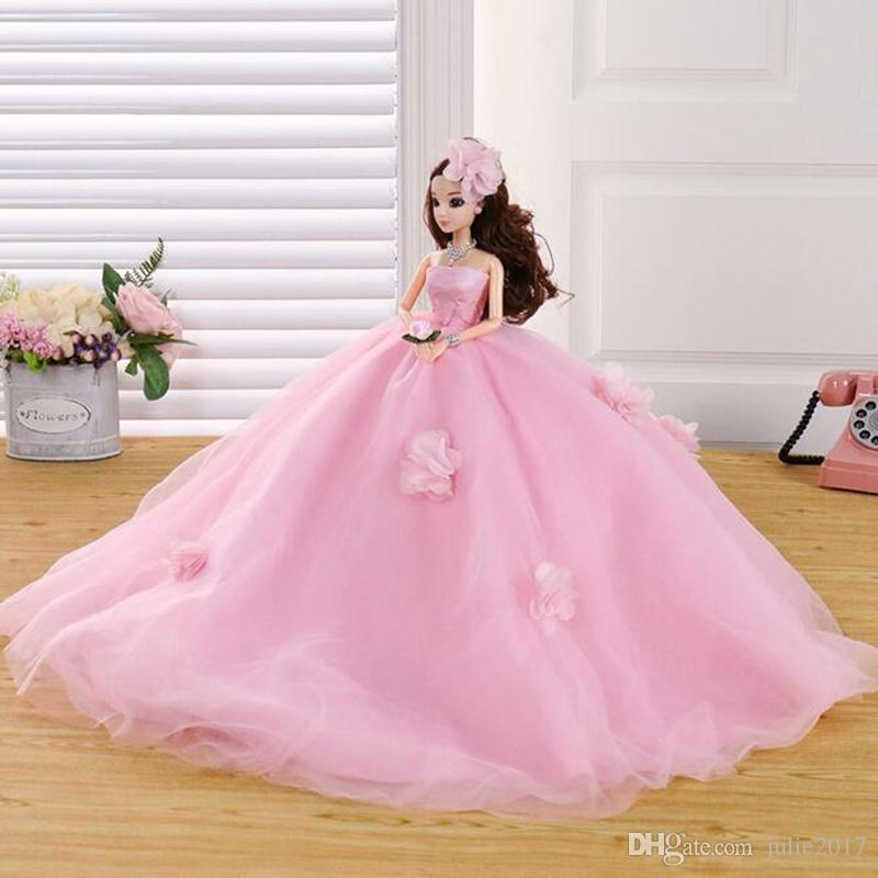 48cm Cute Beautiful Doll Toy Confused Doll Body Fashion Toys High Quality Plastic Classic Best Birthday Gift For Girls Childrens Gift Clothes For 15 Inch Dolls Dresses Dolls From Julie2017 24 69 Dhgate Com