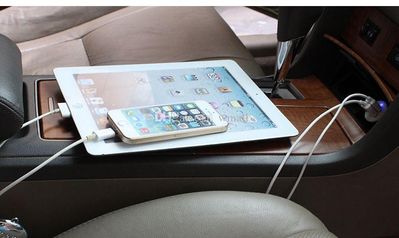 handy ladegeräte 2.1A 2100mA dual usb auto ladegerät 2 port usb mit bunten ladung für ipad iphone smartphone in guter qualität