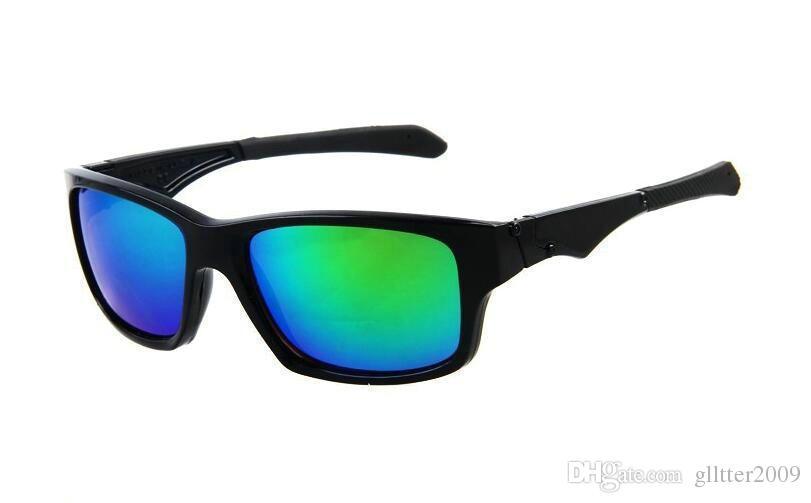 Nouveaux hommes marque designer lunettes de soleil été nouveau style lunettes 11 couleurs Sport Outdoor Cycling lunettes mode dazzle couleur 9135