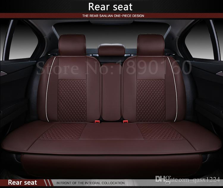 Leather Car Seats >> 2016 Newly Special Leather Car Seat Cover For Seat All Models Black