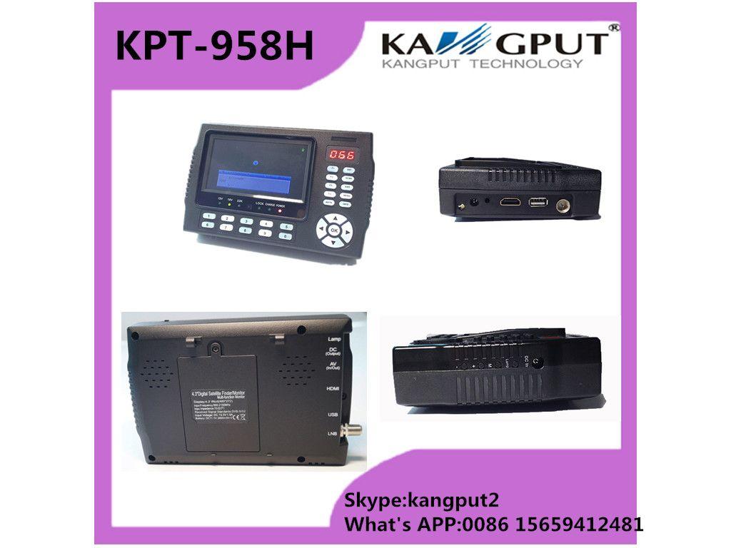 4 3 Inch Full HD Portable NEW Satellite Finder Build-in Keyboard Backlight  KPT958H
