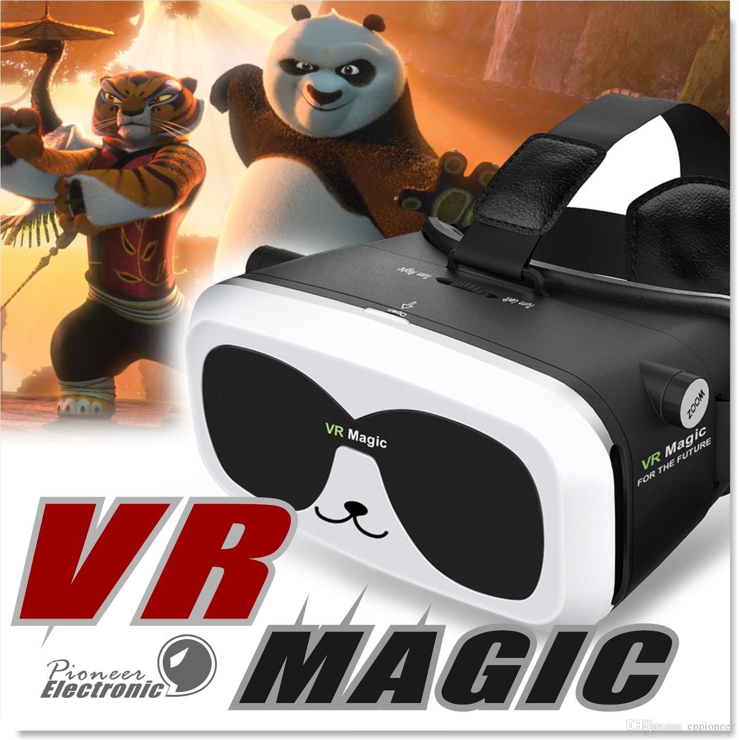 Virtual 3d Home Design Game: 2019 Panda VR Box Unique Design 3D VR Glass Headsets For