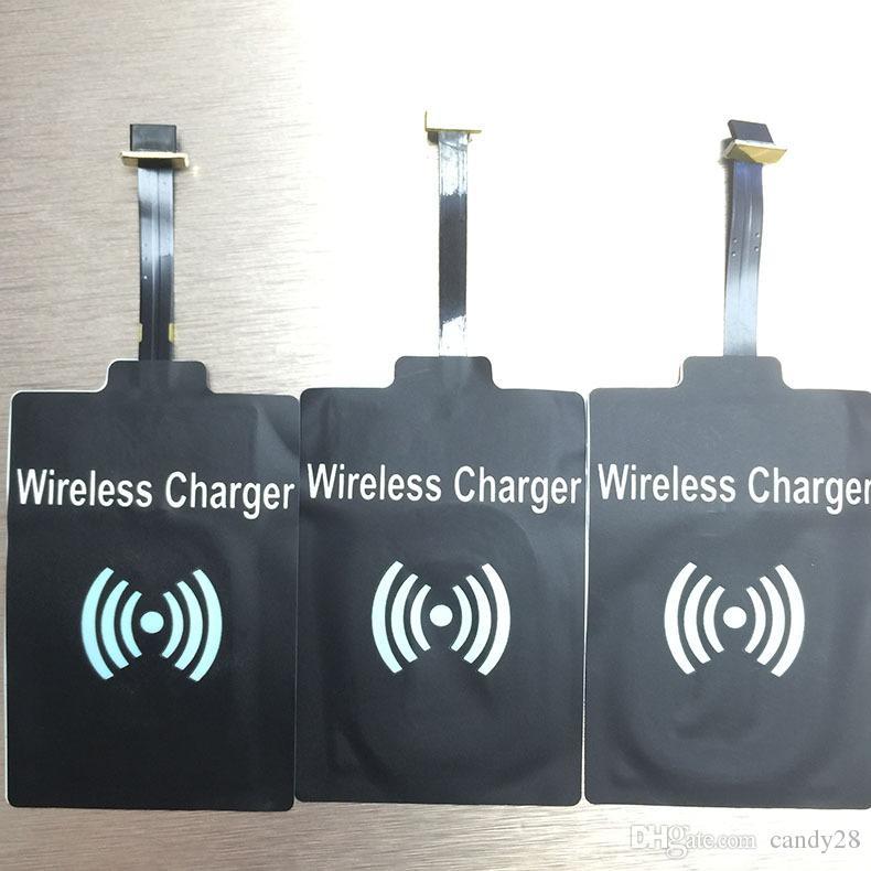 Ricevitore wireless Qi Qulity ad alta frequenza Ricevitore di ricarica qi universale iphone7 6 6splu 5 / 5S / 5C Samsung S3 S4 S5 S6 bordo S7 NOTE5 note4