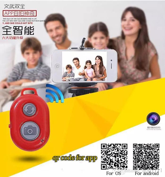 Wireless SELFIE Bluetooth Remote Control Self-timer Shutter Snapshot Camera Control Remote Shutter For iPhone /Samsung /Sony /Camera