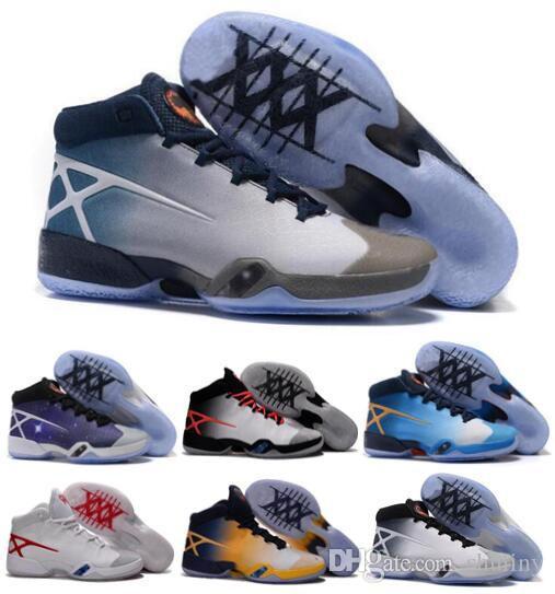 cheap for discount abd1f 3e06d Wholesale XXX New 30 QS 811006 101 LIMITED White Black Wolf Grey Sneaker  Shoes XXX 30 UNC Carolina University Blue Mens Shoes 40 46 Basketball Shoes  For ...