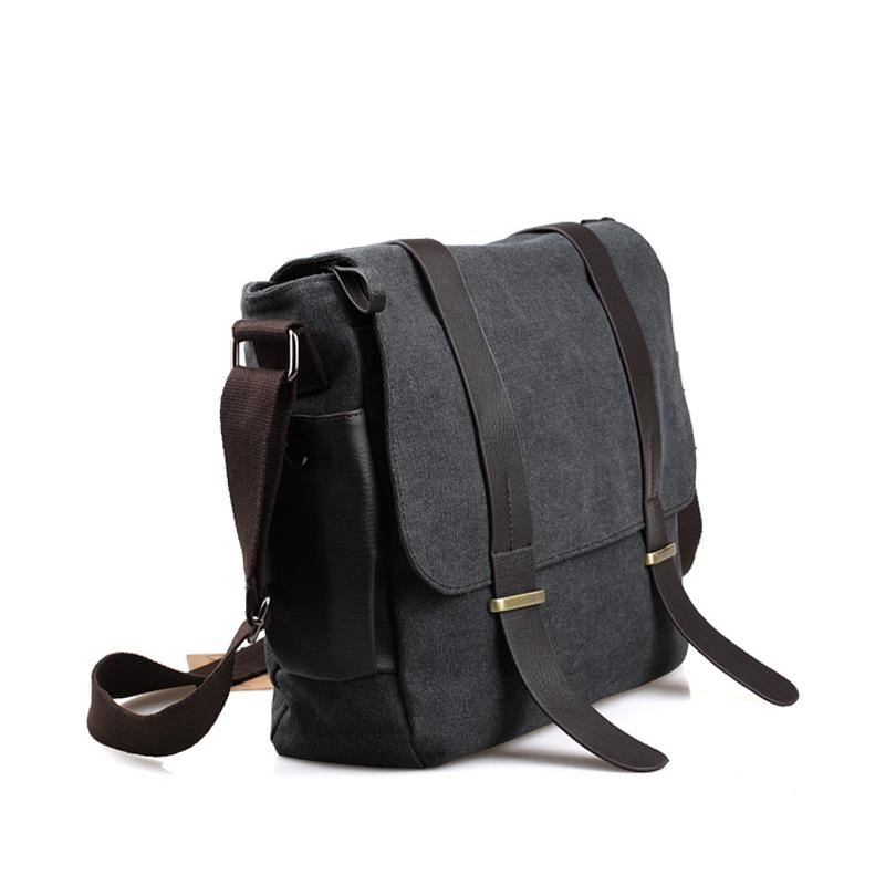Bag Bottle Yoanme High Quality Canvas Messenger Bag Casual Travel ...